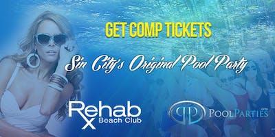 Takeover Thursdays Rehab Hard Rock Las Vegas