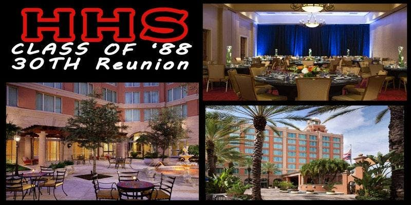 Friday Night - HHS C/0 '88 30th Reunion (til