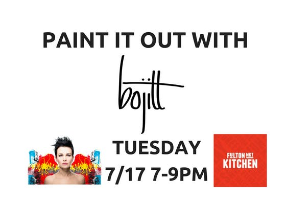 PAINT IT OUT with BOJITT