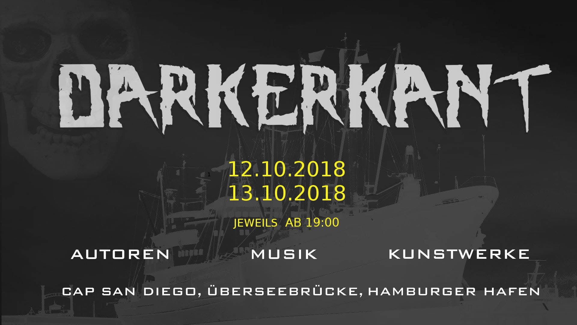 Darkerkant... - Hamburg - 13/10/18 - Evensi
