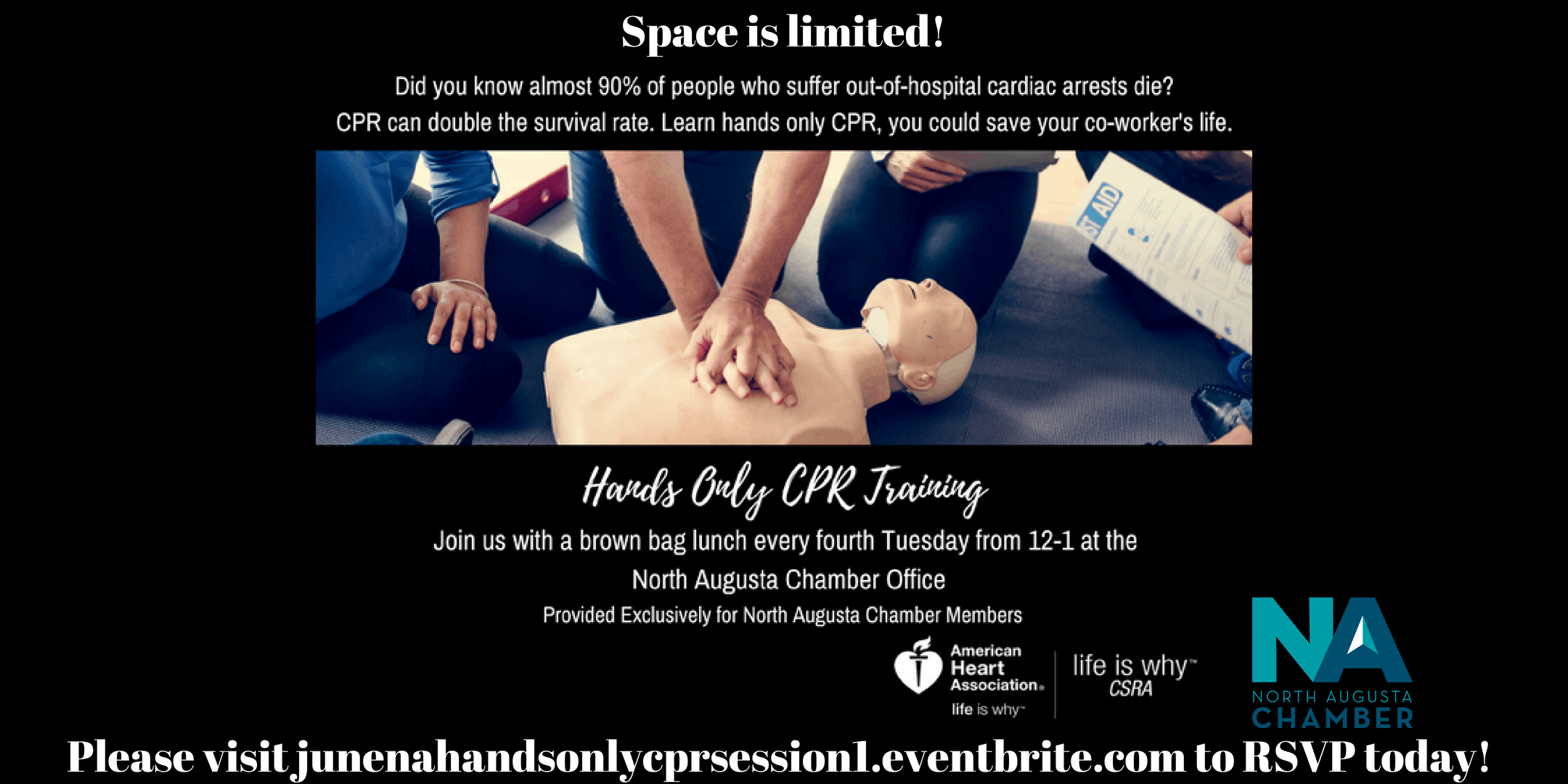 June Hands Only Cpr Training Session 1 26 Jun 2018
