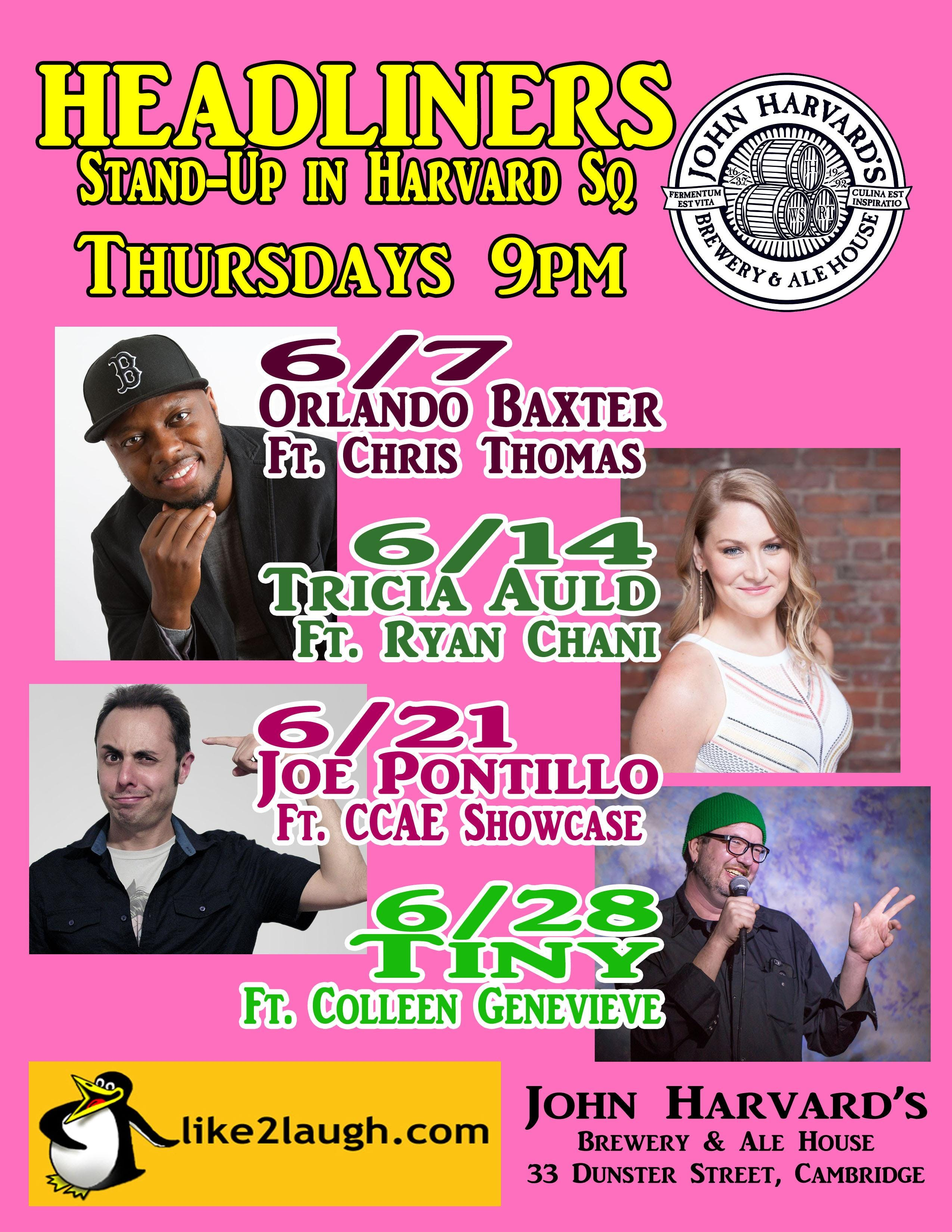 A1 Headliners Stand-Up in Harvard Square