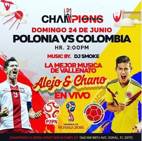 POLONIA VS COLONIA AT CHAMPIONS SPORTS BAR/ L