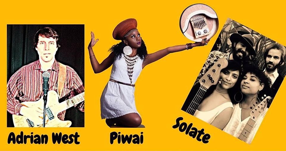 Adrian West Band, Solate & Piwai at Starry Plough