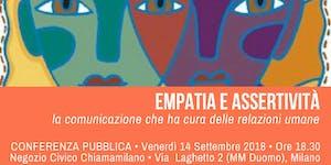 Empatia e Assertività: la comunicazione che ha cura...