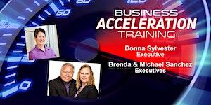 Business Acceleration Workshop - August 2018