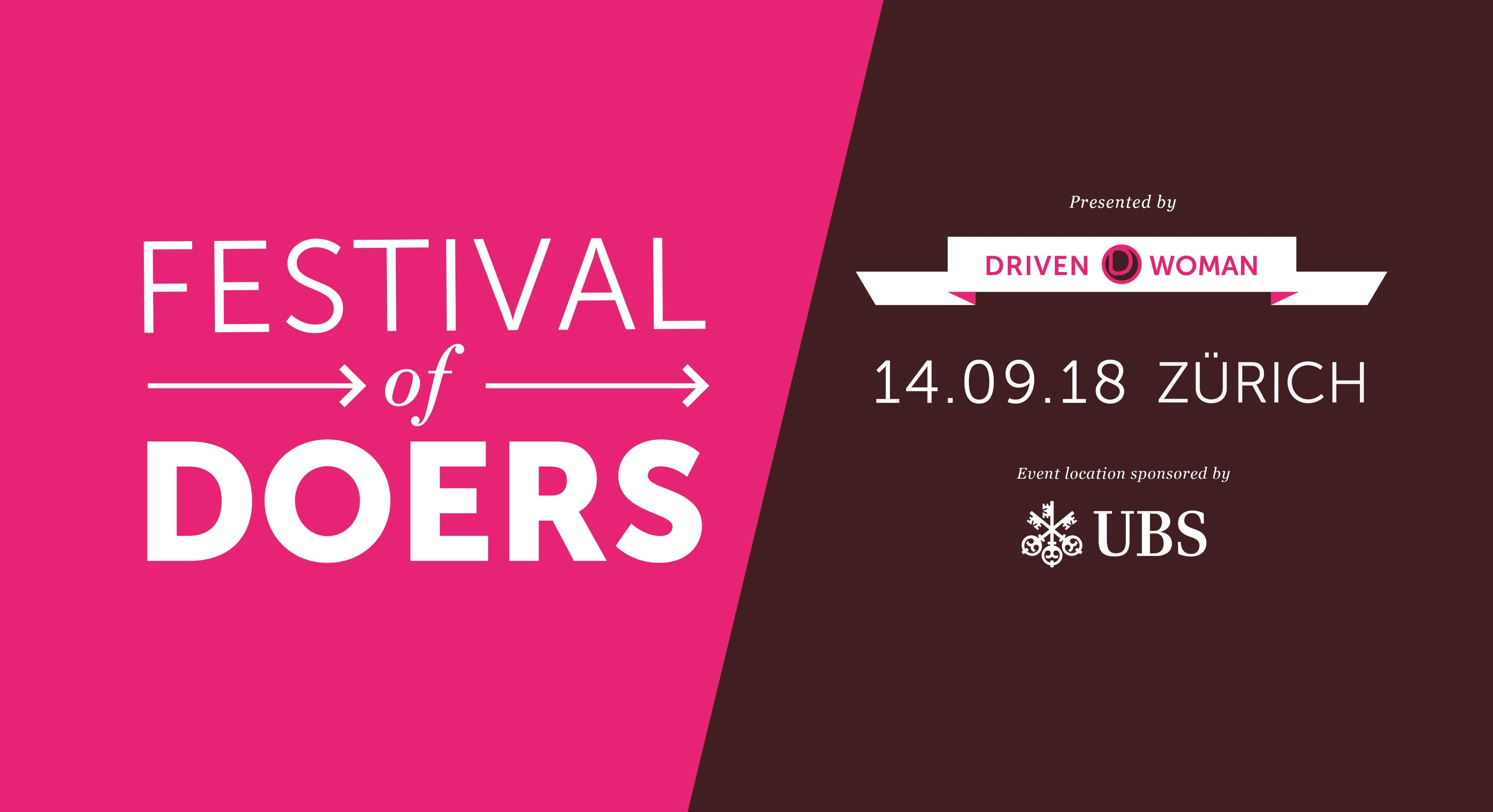 FESTIVAL OF DOERS - THE MOST EMPOWERING DAY OF THE YEAR