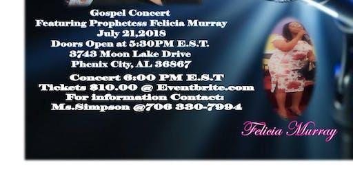 Columbus ga electronic music events eventbrite felicia murray gospel concert malvernweather Image collections