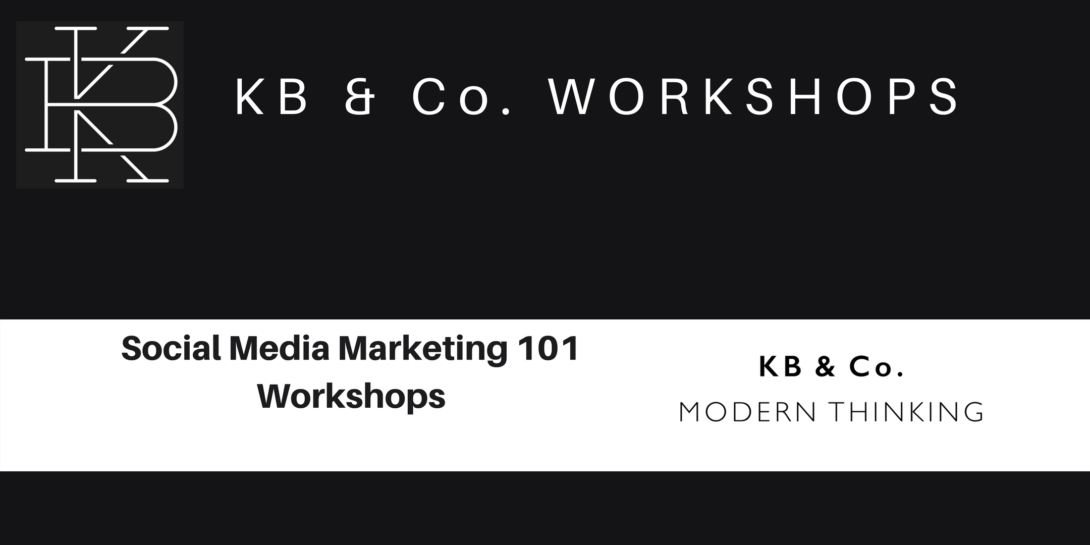 Social Media Marketing 101 Workshop