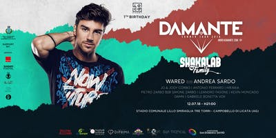 FIRST BIRTHDAY LOCO EVENT-FESTIVAL EDITION W/ ANDREA DAMANTE-SHAKALAB
