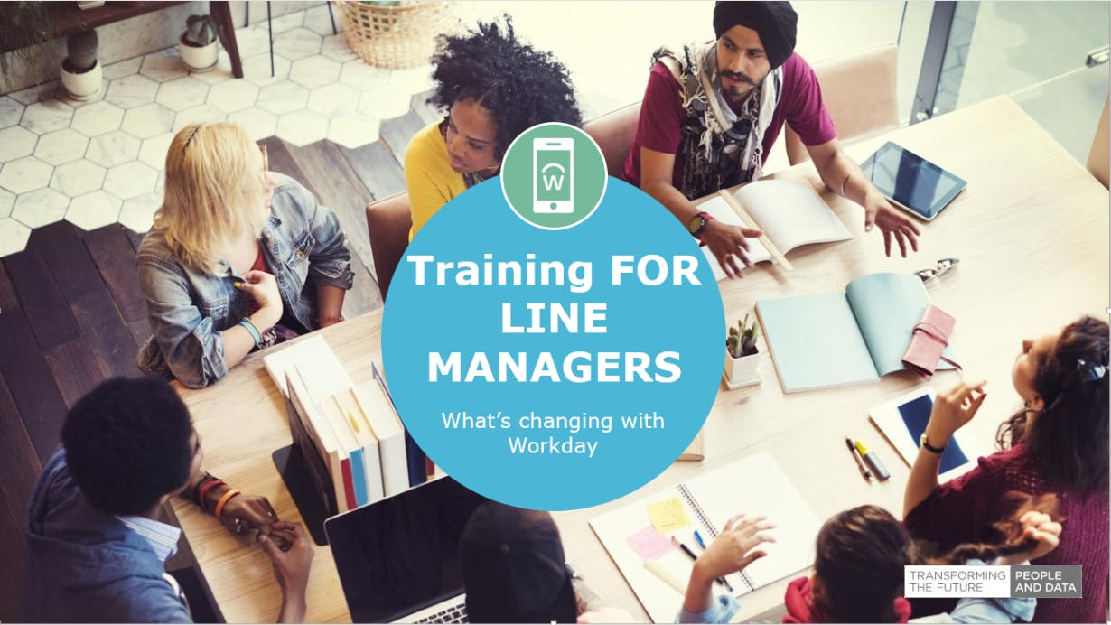 Workday Training for Line Managers