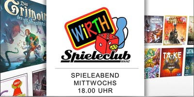 WiRTH Spieleclub - Spieleabend