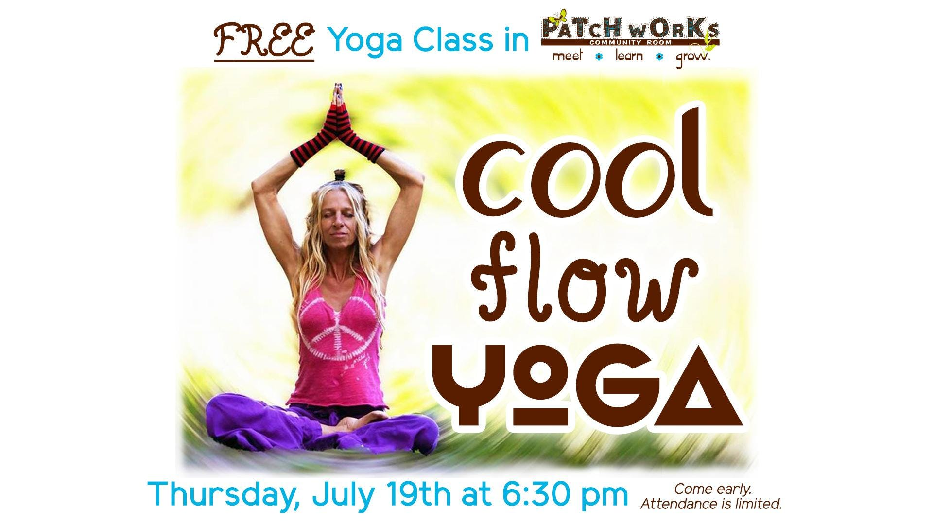 Free Yoga Class: Cool Flow Yoga