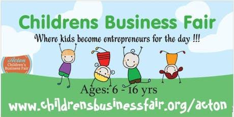 3rd Annual Acton Children's Business Fair tickets