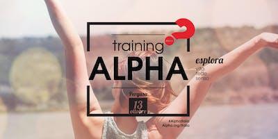 Alpha Training Sicilia // 13 Ottobre 2018