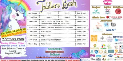 Super Early bird- MORNING ticket- Toddlers Bash x October 2018