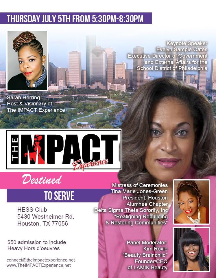 The IMPACT Experience Houston TX Destined To Serve