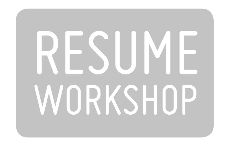 resume writing workshop 7 jul 2018