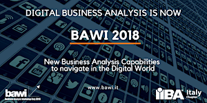 Business Analysis Workshop Italy - BAWI - 2018 (7...