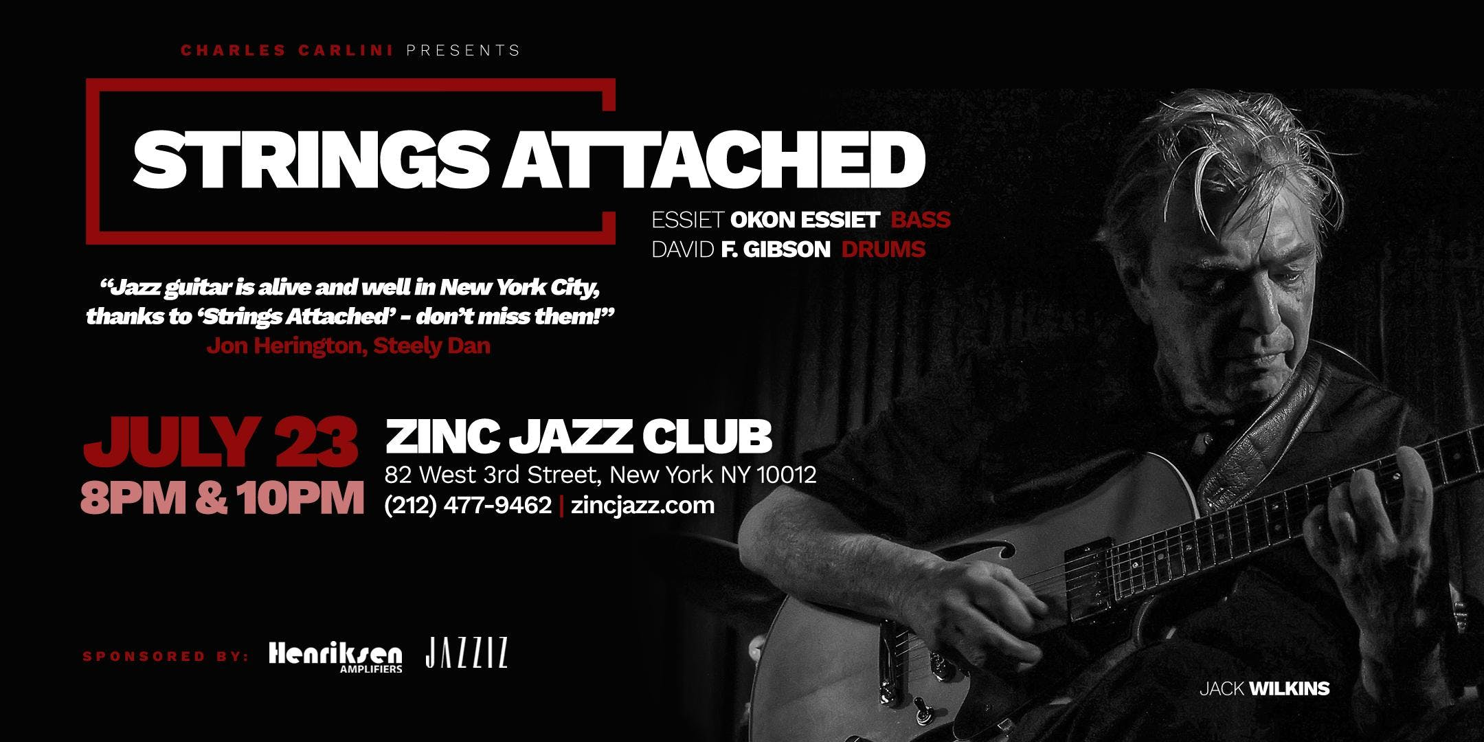 Strings Attached ft. Jack Wilkins, Vic Juris,