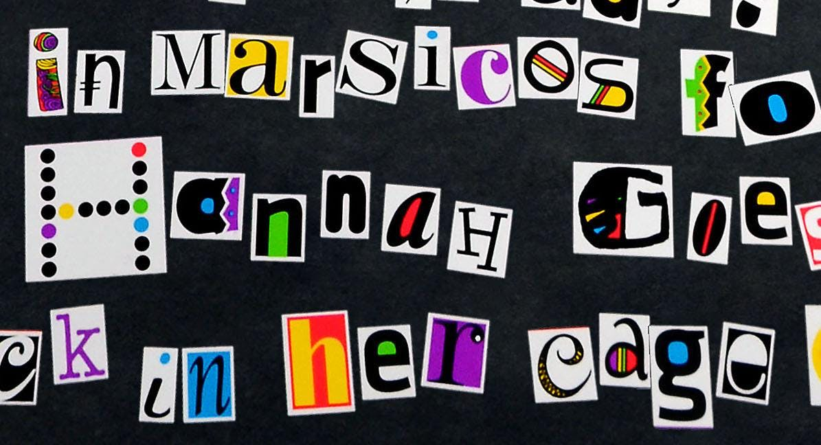 Creating the Perfect Ransom Note