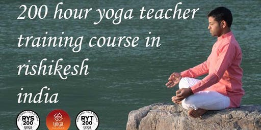 200 Hour Yoga ttc in Rishikesh India