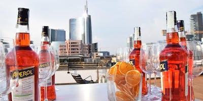 Aperitivo esclusivo su rooftop panoramico