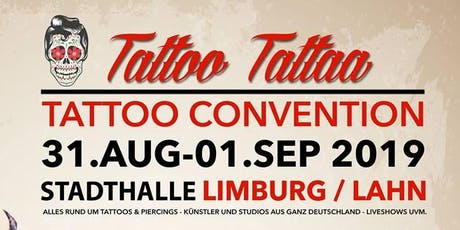 "Tattoo Convention Limburg ""TattooTattaa"" billets"