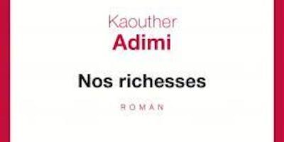 Club de Lecture : Nos richesses de Kaouther Adimi