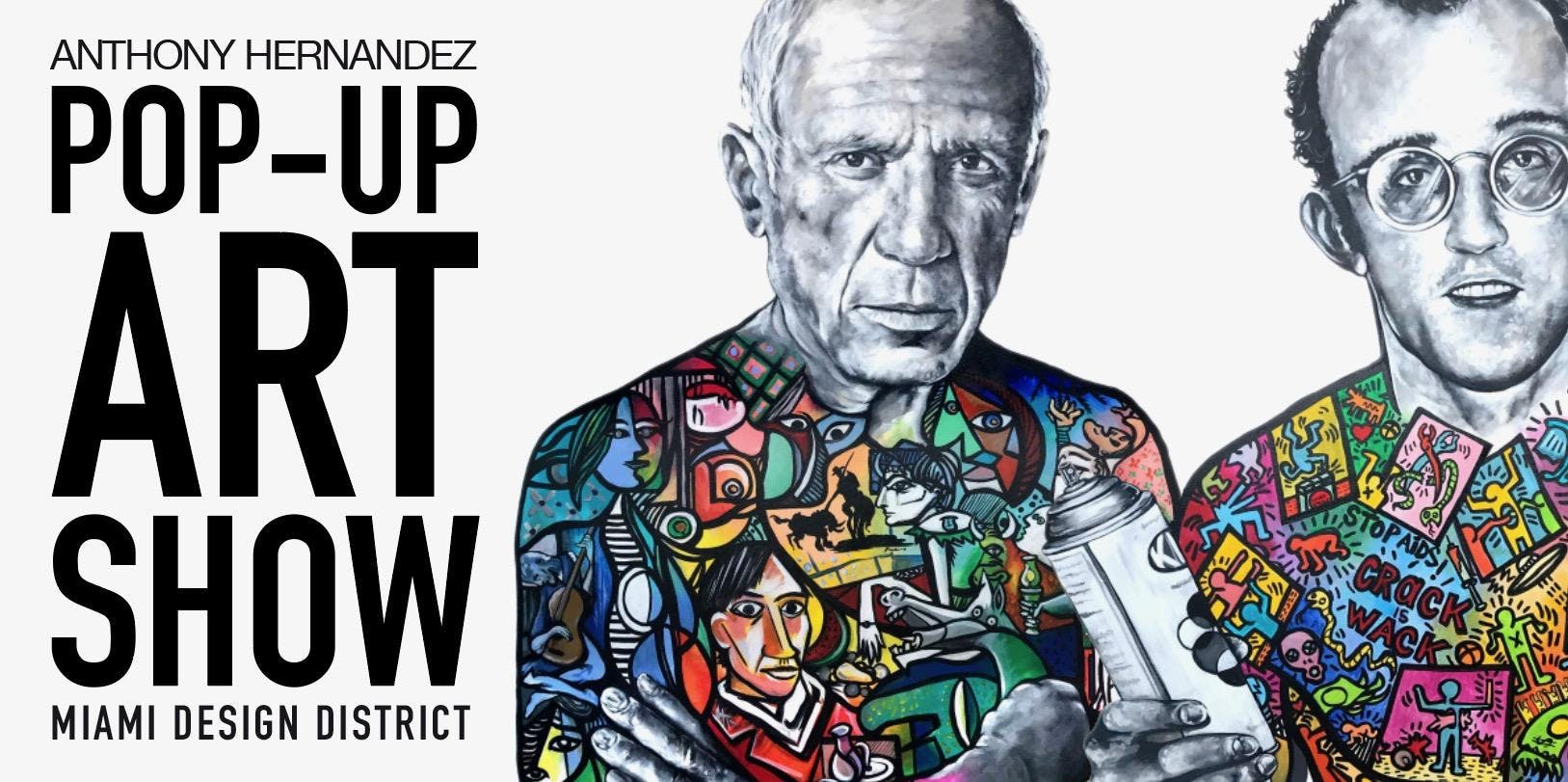 MIAMI POP-UP ART SHOW - ANTHONY HERNANDEZ