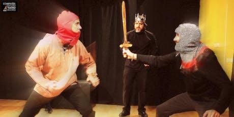 Prueba una clase de Teatro para Principiantes (gratis) en Madrid entradas