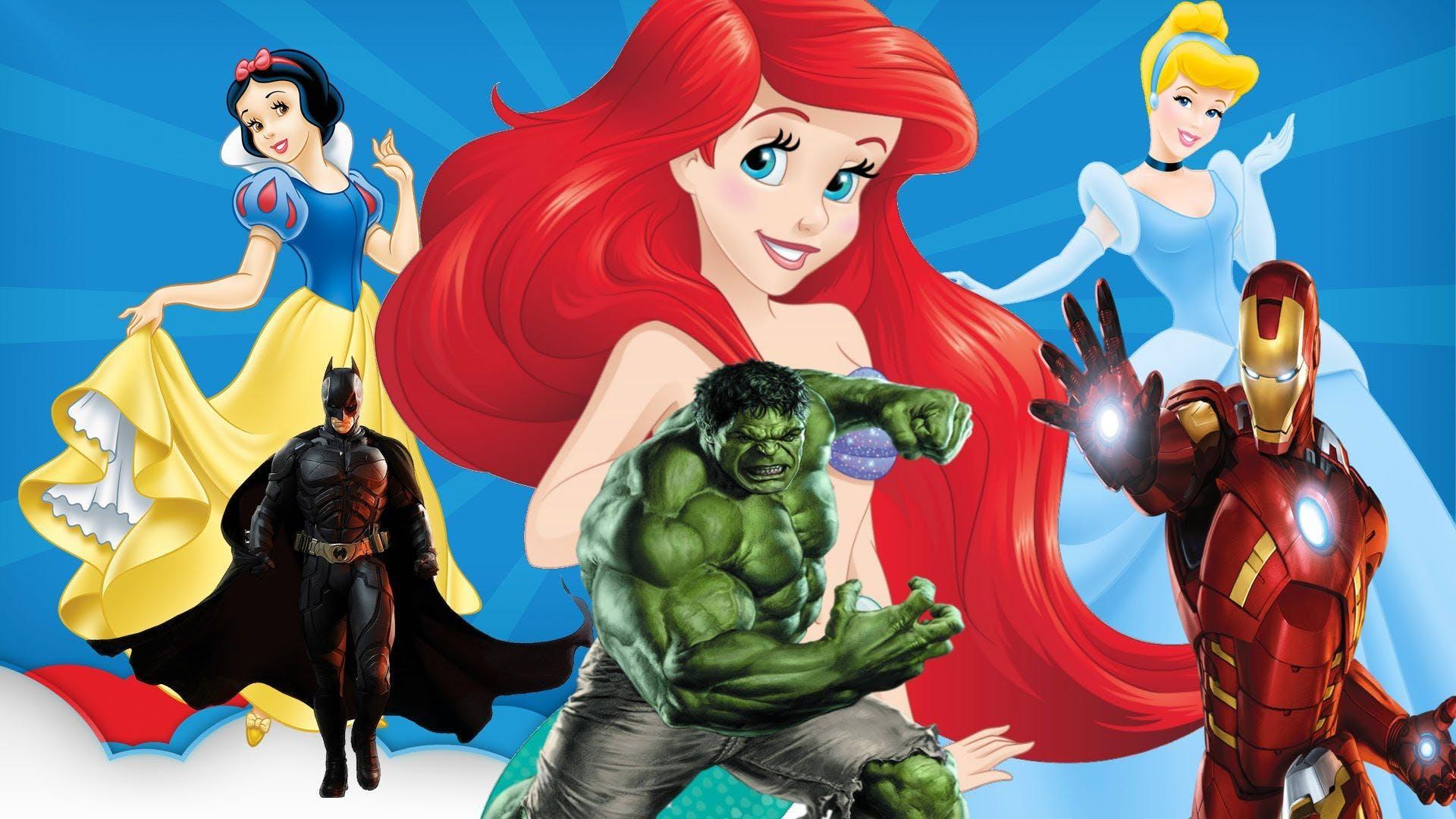 Superheroes & Princesses - Primary 4 -Primary