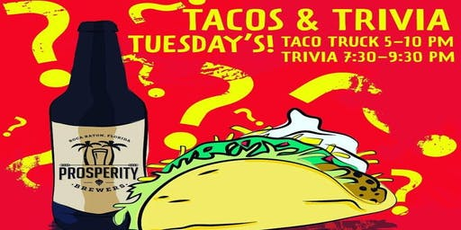Tacos & Trivia Tuesdays
