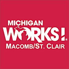 Macomb/St. Clair Michigan Works! logo