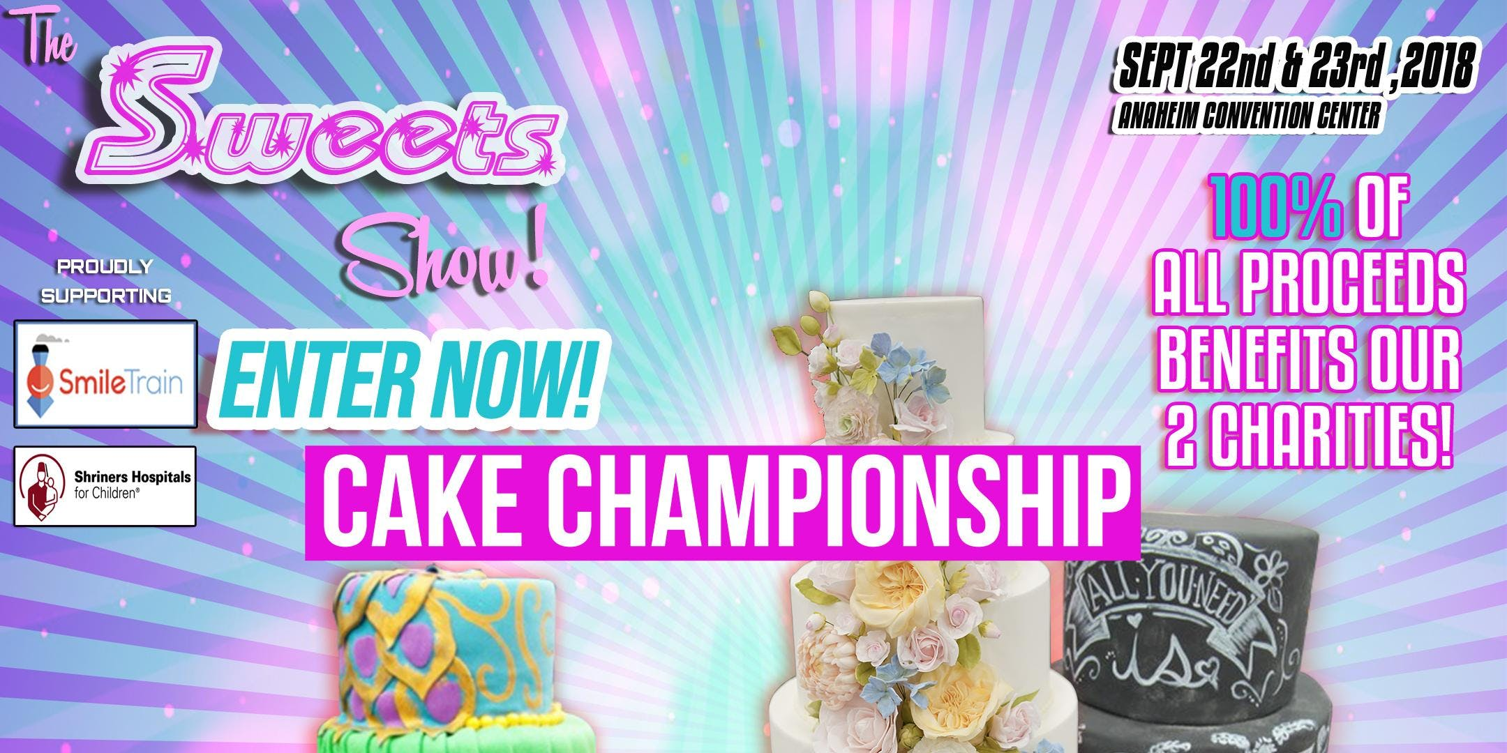 The Sweets Show Cake Championship Competition