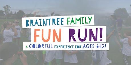 3rd Annual Braintree Family Fun Run tickets