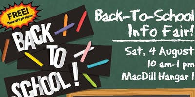 MacDill AFB Back to School Resource and Information Fair