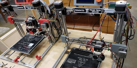 3D Printing Orientation - RepRap Machines tickets