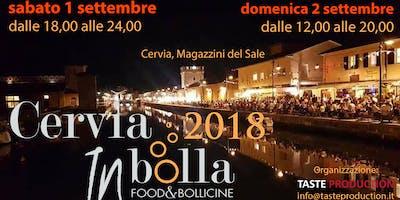 CerviaINbolla 2018 Food&Bollicine