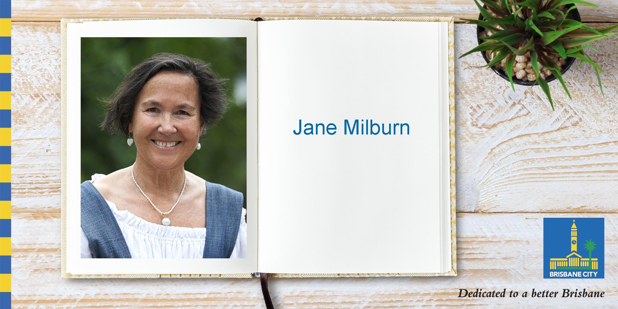 Author talk: Meet Jane Milburn - Toowong Libr