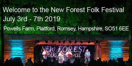 New Forest Folk Festival July 2019 tickets