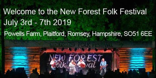 New Forest Folk Festival July 2019