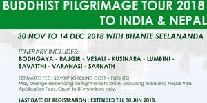 Application For Buddhist Pilgrimage2018 to India &...