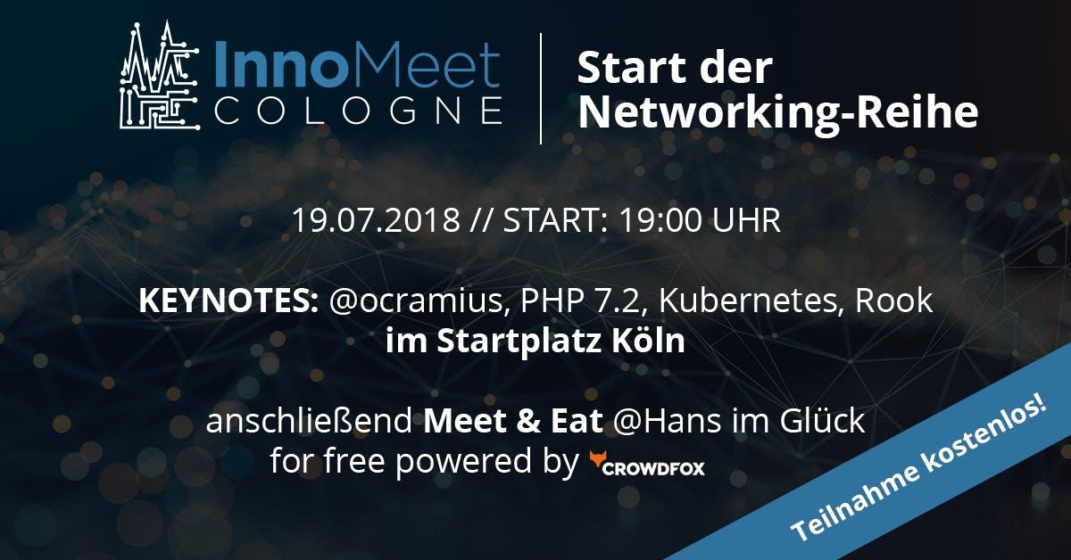 InnoMeet Cologne - Die Networking-Reihe für I