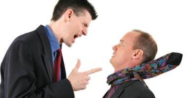 Conflict De-escalation Training Seminar