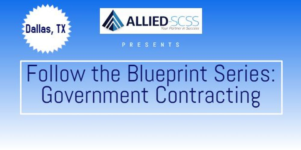 Follow the blueprint series government contracting tickets tue follow the blueprint series government contracting tickets tue jul 24 2018 at 600 pm eventbrite malvernweather Images