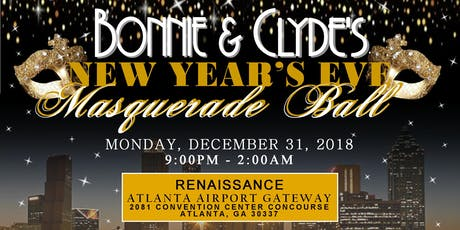 bonnie clydes new years eve masquerade
