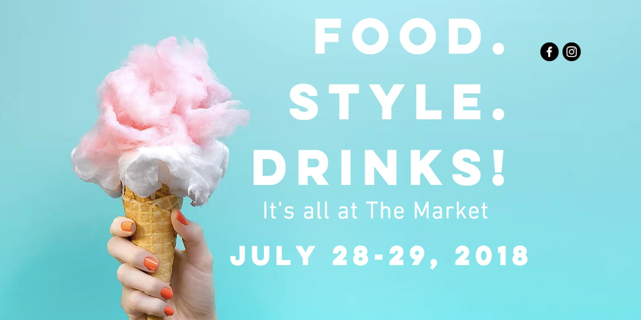 SIP. SHOP. EAT! at The Collective Pop Up Mark