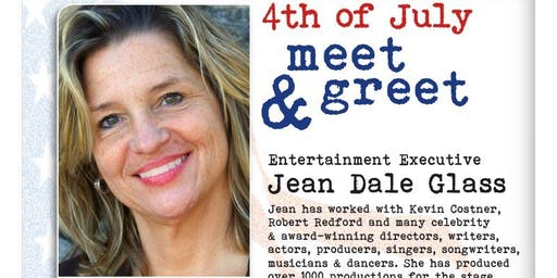 Los angeles ca 4th of july party events eventbrite 4th of july meet greet with jean dale m4hsunfo