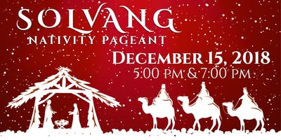 2018 Solvang Nativity Pageant